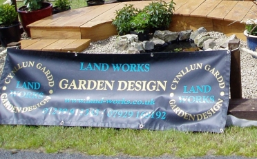 Landworks at the Carmarthen showground