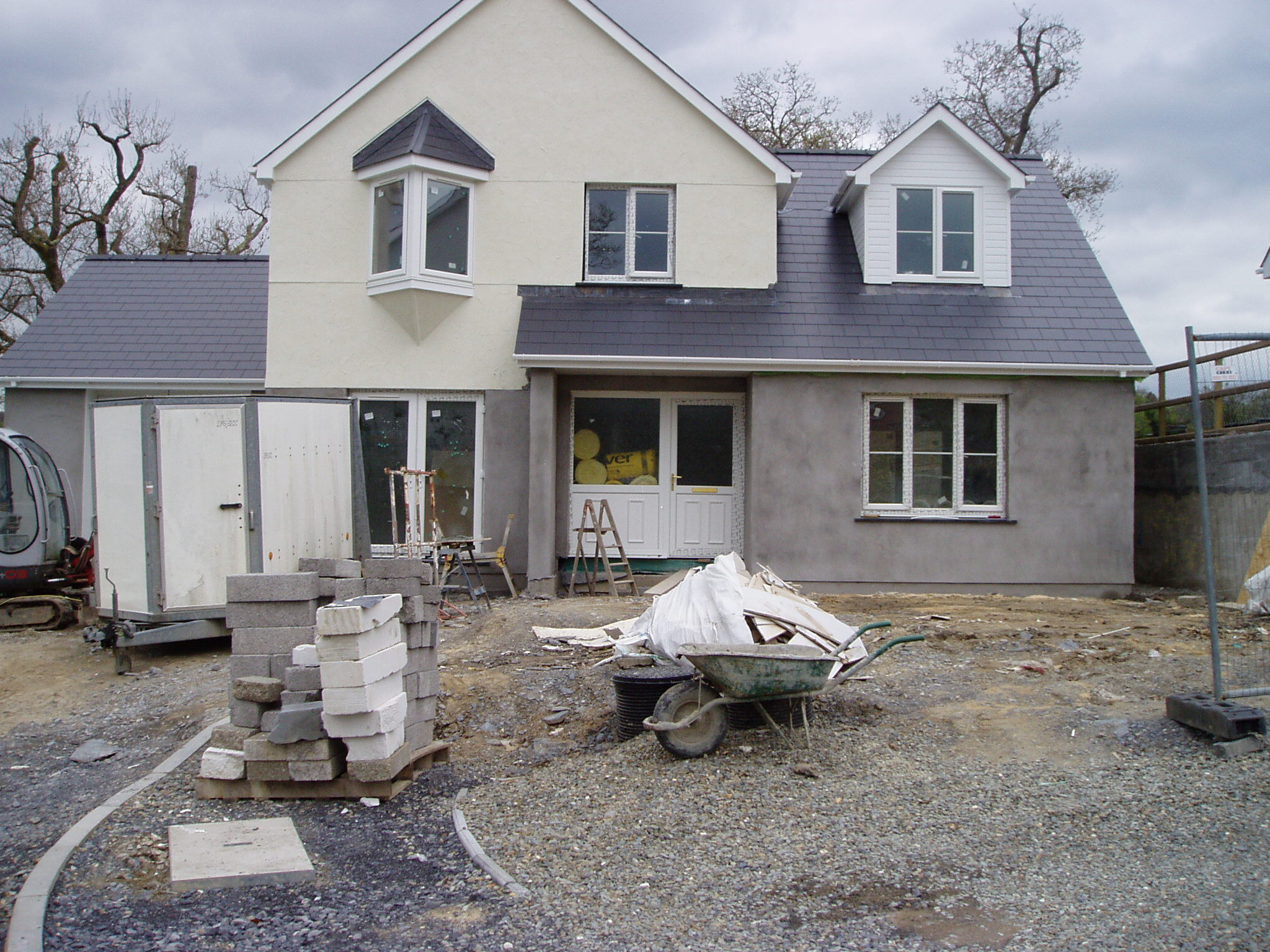 New build house Cenarth