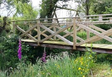 Larch bridge, Aberporth