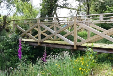 Larch bridge, Aberporth