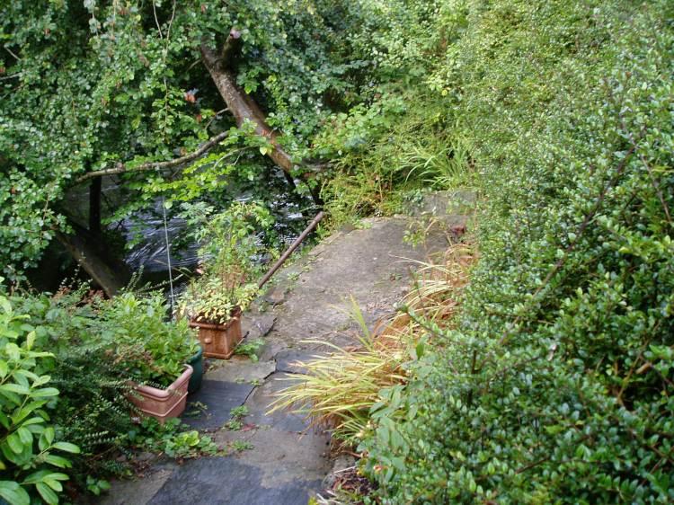 Building a beech deck, Carmarthenshire 1