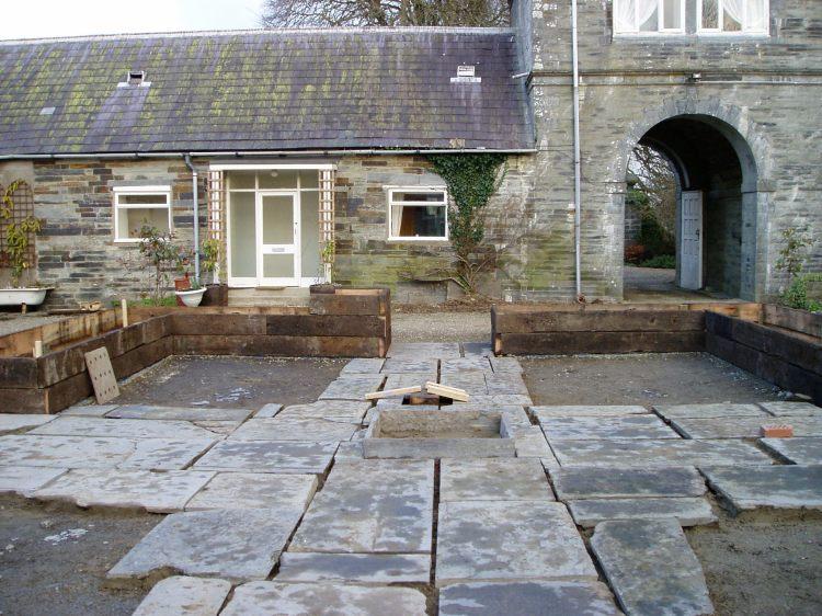 Historic garden Pembrokeshire