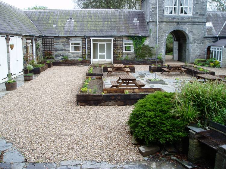 Historic garden Pembrokeshire process 2