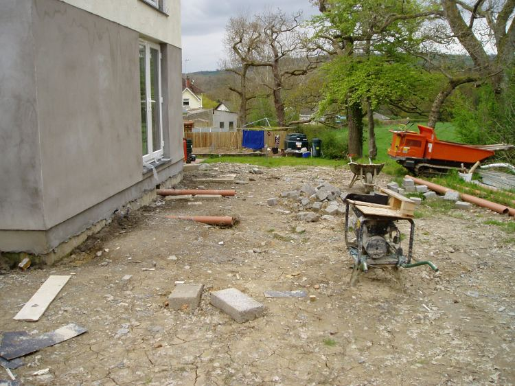 New Build garden Cenarth 1
