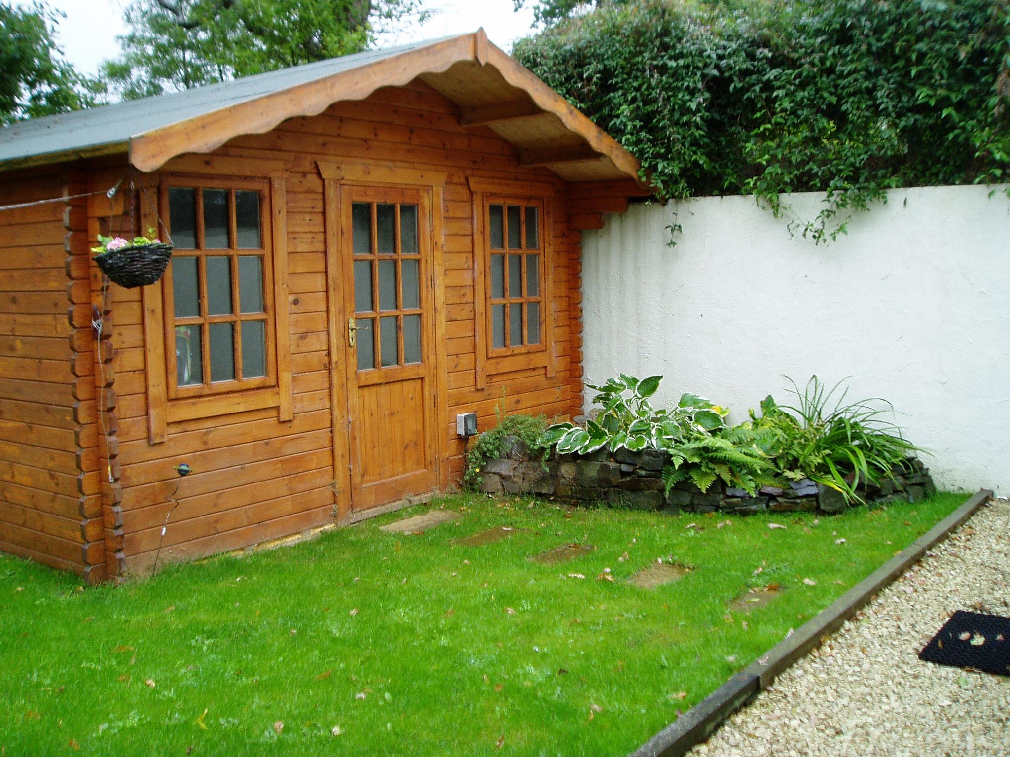 new build garden home office