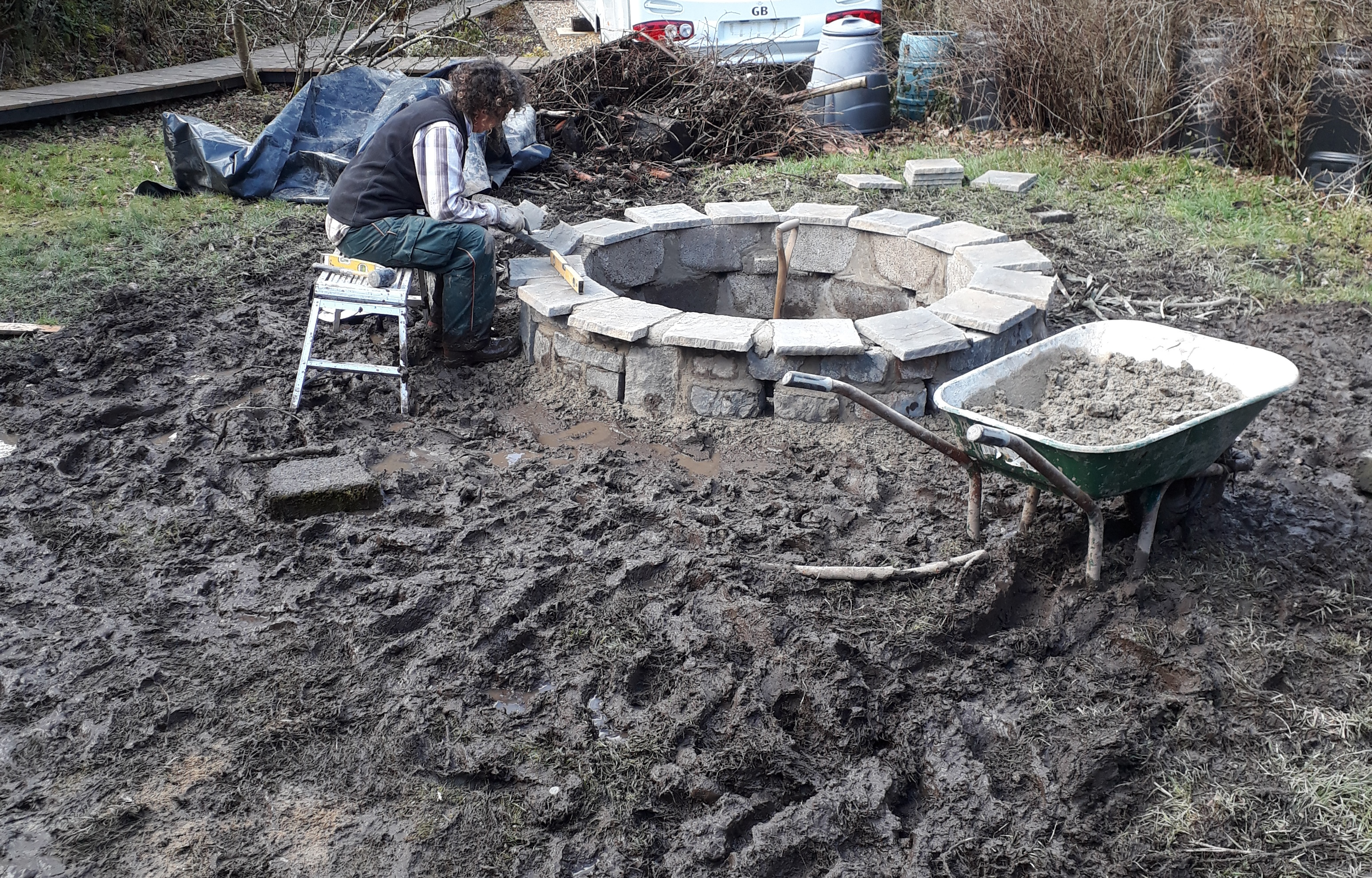Firepit pointing