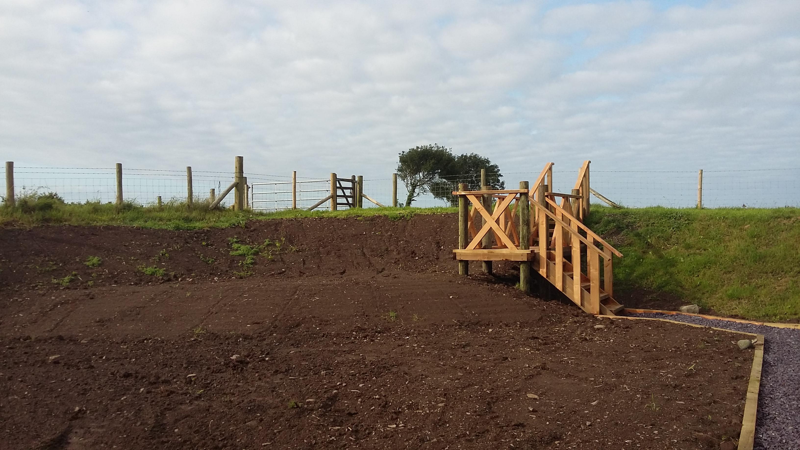 Meadow before seeding